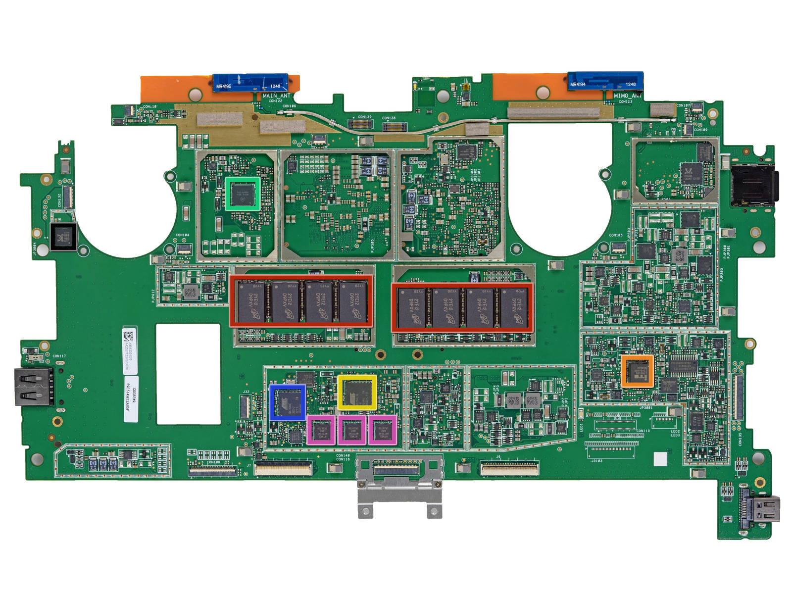 Inside Microsofts Surface Pro A Fiendishly Difficult Journey The Ipad 2 Logic Board Diagram Microsoft Top
