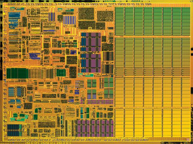 Intel Banias die