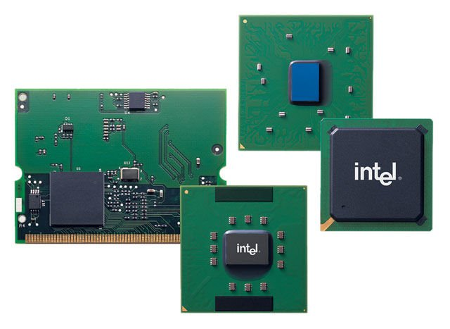 Intel first-generation Centrino chippery