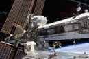 Alpha Magnetic Spectrometer installed on the S3 truss on ISS