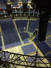 OB Arena auditorium