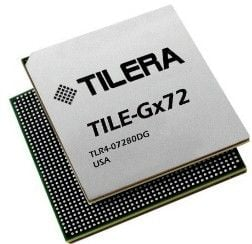 The Tilera Tile-Gx72 system-on-chip