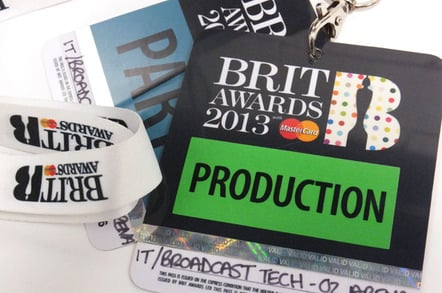 BRIT Awards 2013 pass