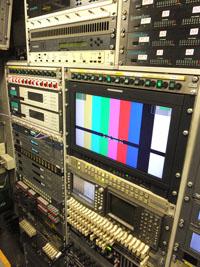 BT broadcast truck