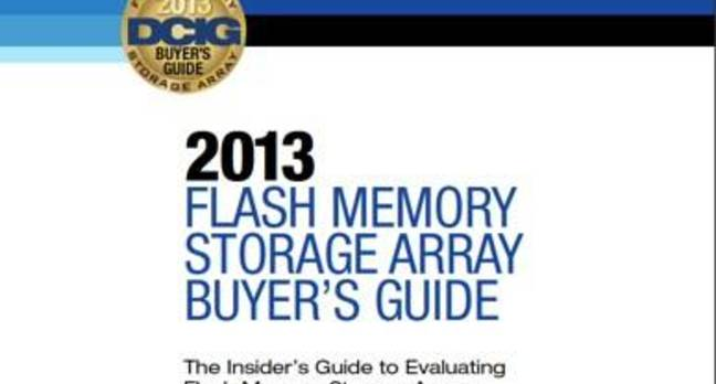 DCIG Flash Array Buyers Guide