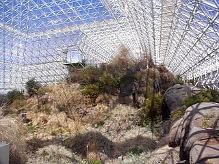Biosphere-2 in Arizona in 1998