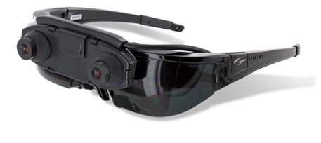 Vuzix AR Wrap 1200 glasses, credit Vuzix