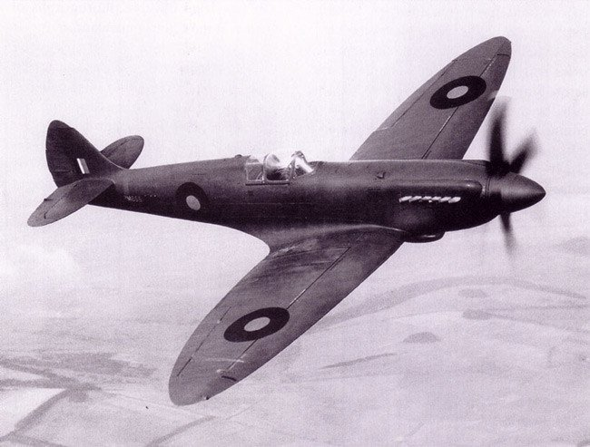 Spitfire PR XIX PM656. Photo: RAF