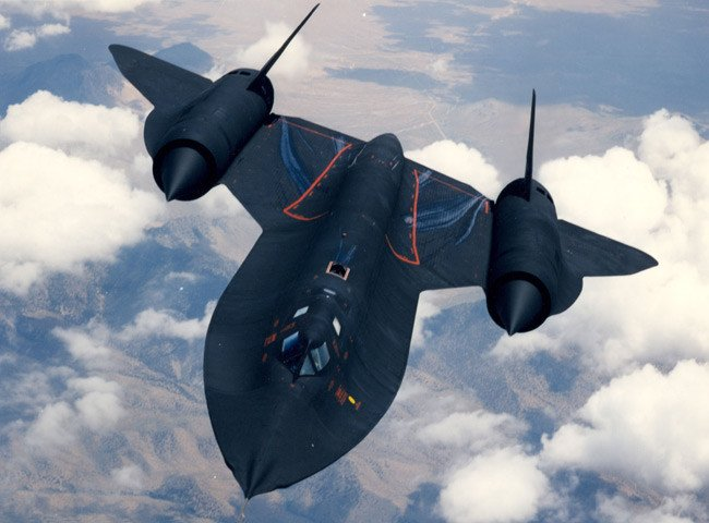 SR-71 'Blackbird' during testing. Pic: US Air Force