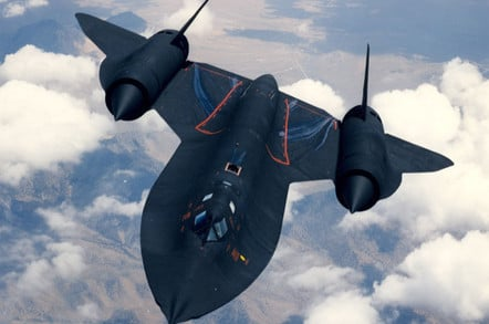SR-71 'Blackbird' testing. Pic: US Air Force