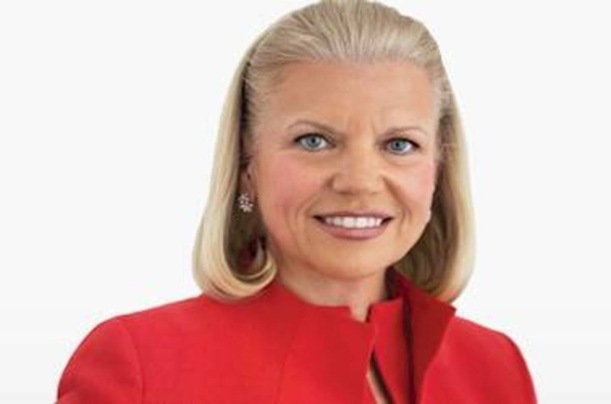 Tough at the top: IBM CEO Ginni Rometty troughs $10 MEELLION+