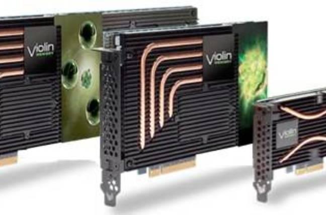 Violin Memory PCIe cards