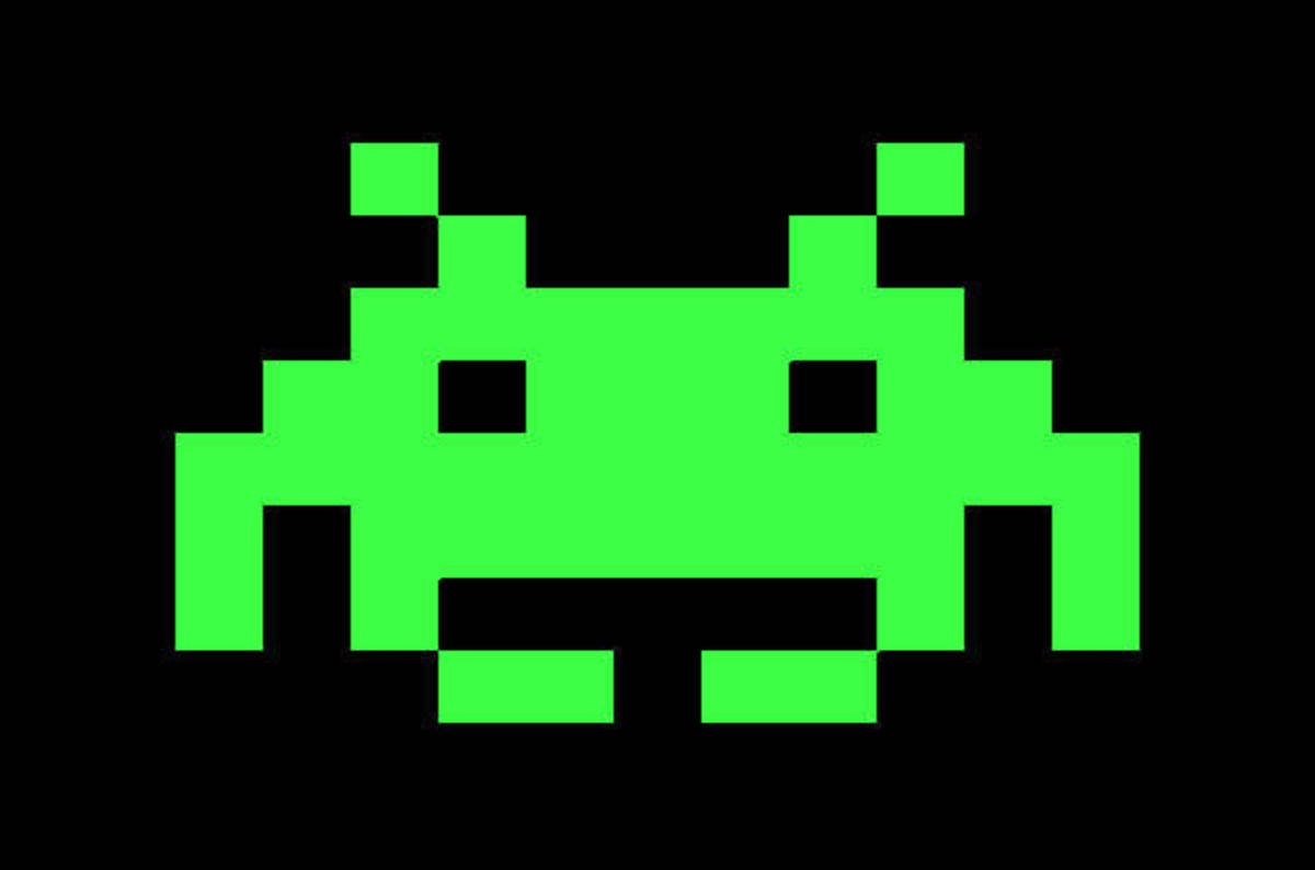 Thirty-five years ago today: Space Invaders conquer the ...  Space Invaders Spaceship
