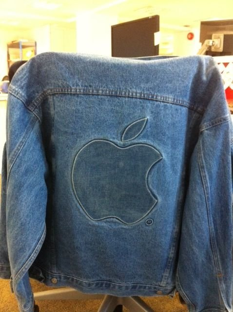My old Apple jacket, Anna Leach