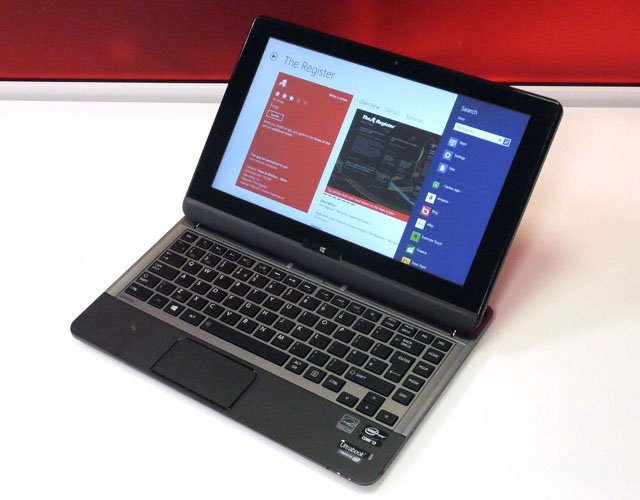 Review Toshiba Satellite U920t Ultrabook The Register