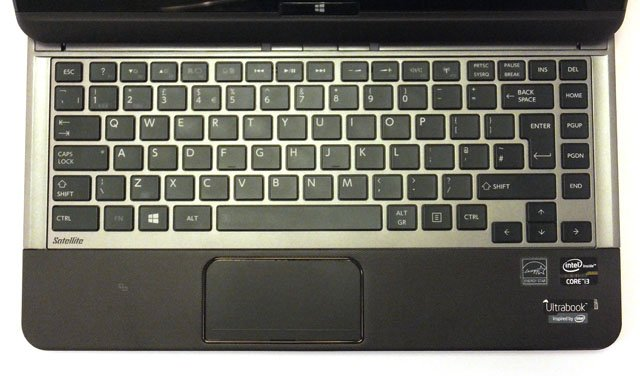 Toshiba Satellite U920T Ultrabook keyboard