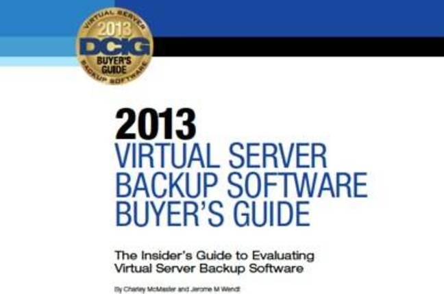 DCIG Virtual Server Backup Guide