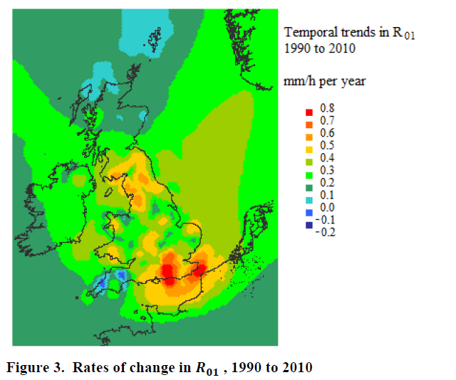 Rain increasing to 2010