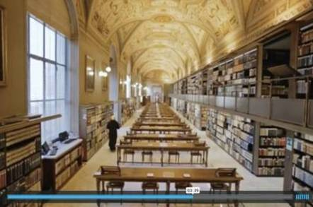 EMC Vatican Library Video still