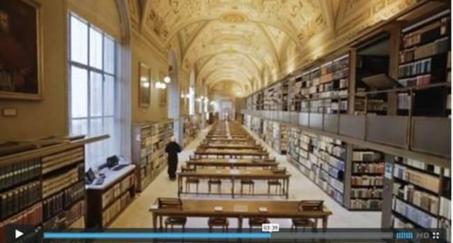EMC Vatican Library Video still