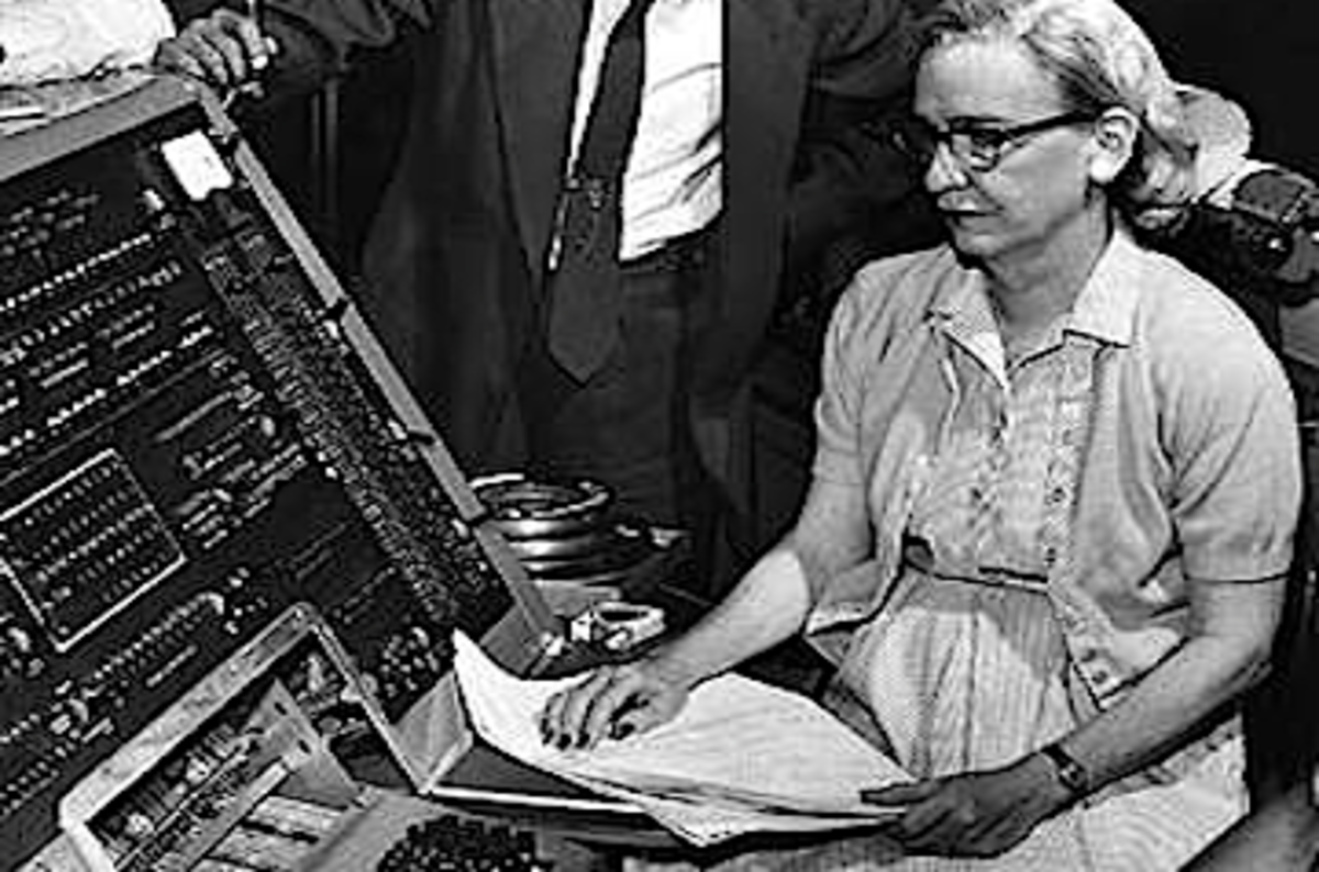 On International Woman's Day we remember Grace Hopper ...
