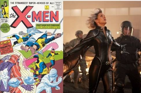 X-Men, then and now