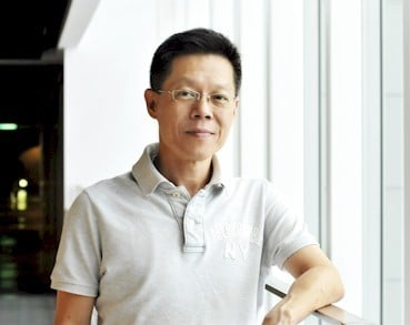 Quanta cloud business unit GM Mike Yang