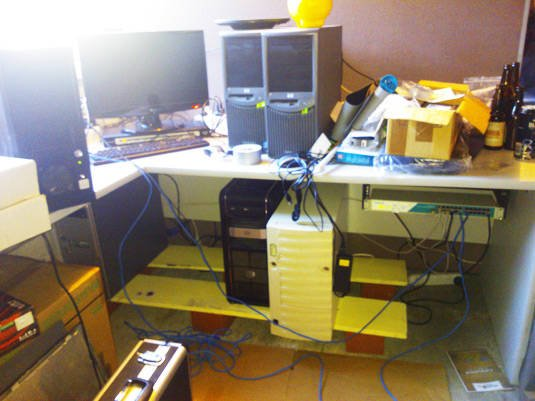 Andrew Gall's home lab
