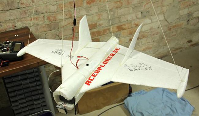David Windestal's Space Glider. Pic: David Windestal