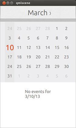 Screenshot of Ubuntu Touch Calculator