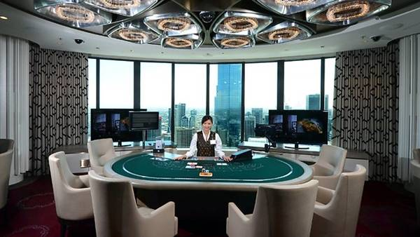 Crown Casino poker room