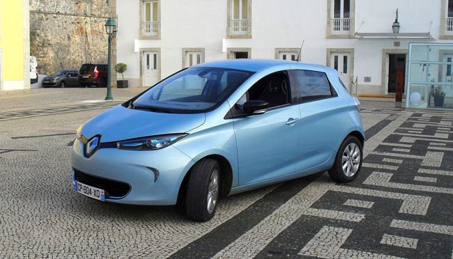 Review Renault Zoe Electric Car The Register