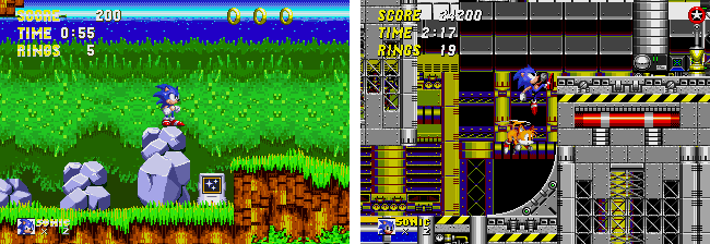 Sonic 2 and 3