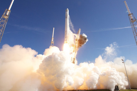 Falcon 9 lift off from Cape Canaveral, Florida. Pic: SpaceX