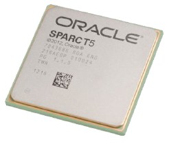 The Sparc T5 chip is not socket-compatible with the Sparc T4