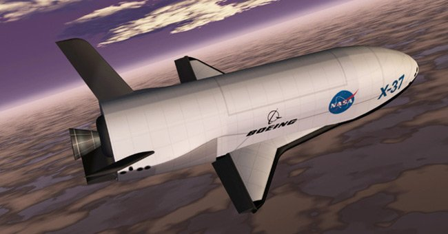 Artist's impression of the X-37. Pic: NASA/Marshall