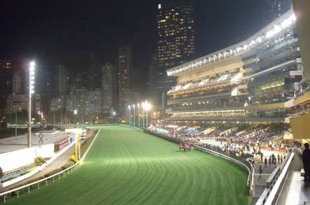 Happy Valley Racecourse Hong Kong stands