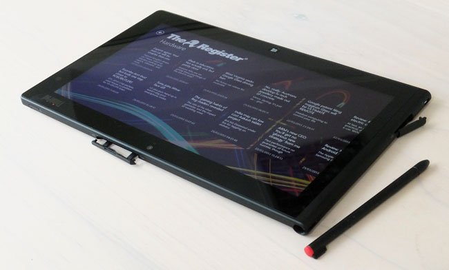 Review Lenovo Thinkpad Tablet 2 The Register