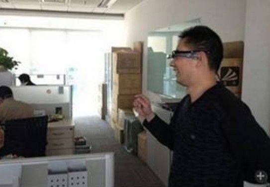 Baidu Glass prototype