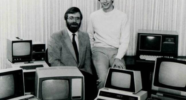 Bill Gates and Paul Allen 1981