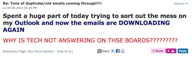 A screenshot of an outraged punter's forum post