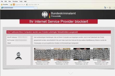 German ransomware