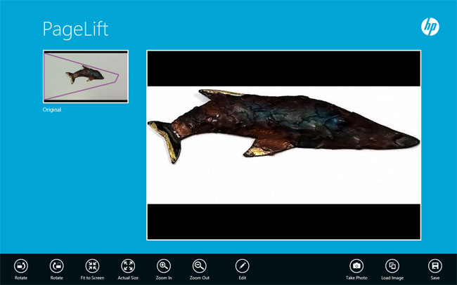 HP ElitePad 900 Windows 8 Pro tablet PageLift app