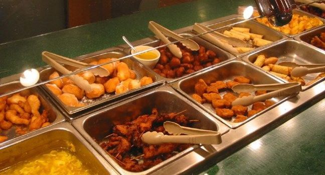 Chinese Buffet self-service