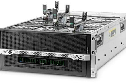 The HP Moonshot Gemini 1500 server chassis