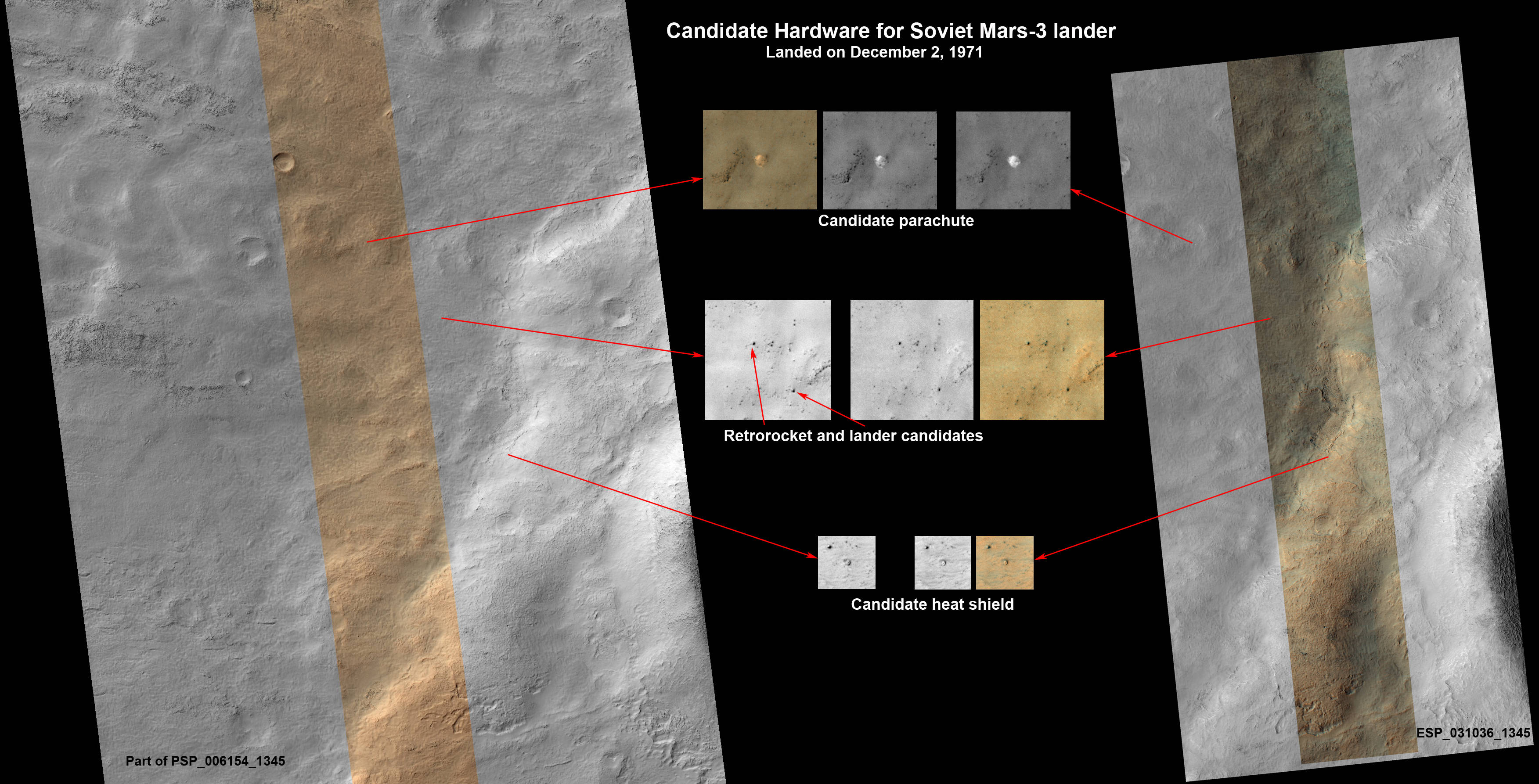 MRO image of Mars 3