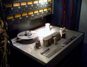 Studer A800 MkIII from Bullet Sound Studios