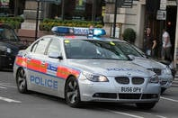 London BMW 5-Series police car