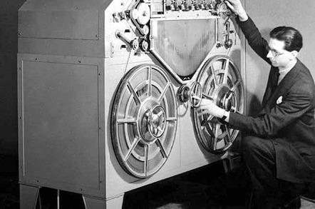 Marconi-Stille steel tape recorder