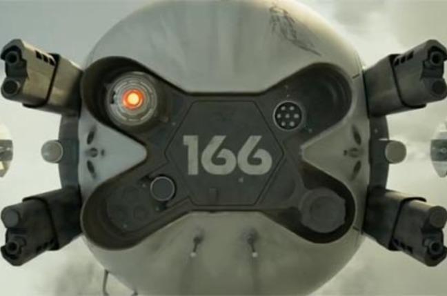 Oblivion, the movie drone